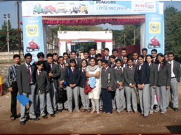 Students at Industrial Visits