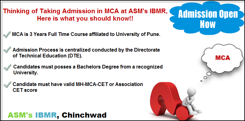 MCA Admissions at ASM's IBMR