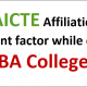 Why AICTE Approved College for MBA