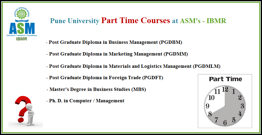 Part Time Courses - IBMR