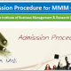 Admission Procedures for MMM