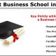 best business school in India