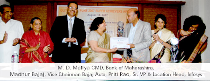 M. D. Mallya CMD, Bank of Maharashtra