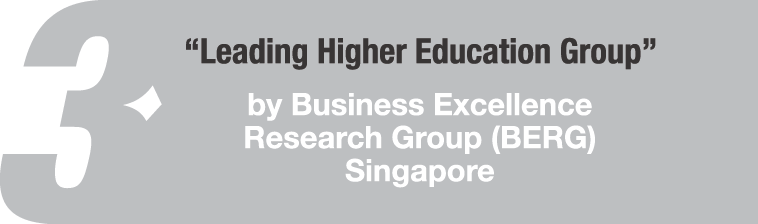 Leading Higher Education Group Award by BERG