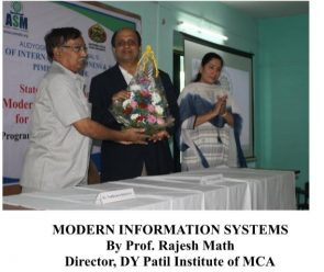 Prof. Rajesh Math - Director, DY Patil Institute of MCA