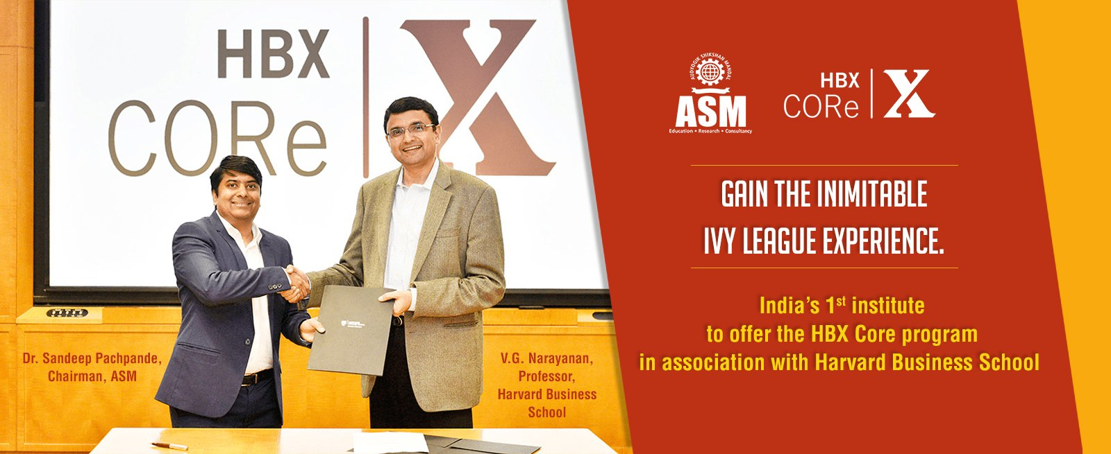 HBX CORE Program in Pune by ASM IBMR