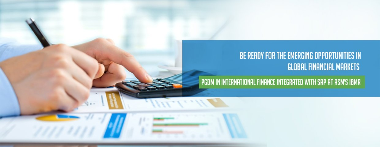 PGDM in International Finance with SAP in Pune