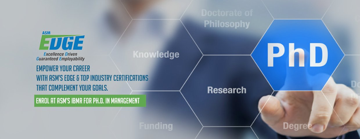 PH.D. in Management in Pune