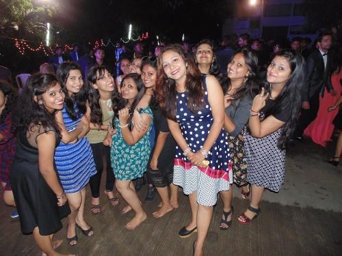Fresher's Day Celebration at ASM IBMR