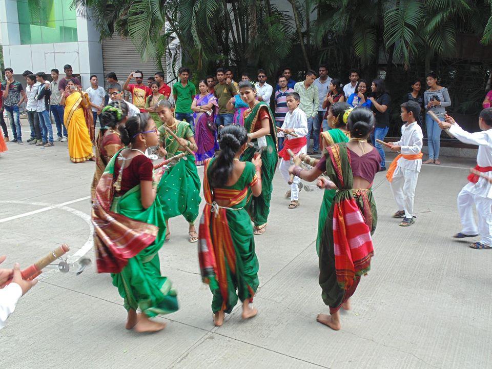 Ganpati Visarjan Event at ASM IBMR