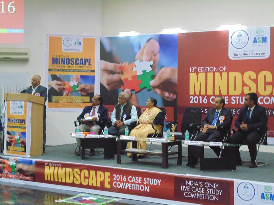 Flagship event of ASM'S Mindscape