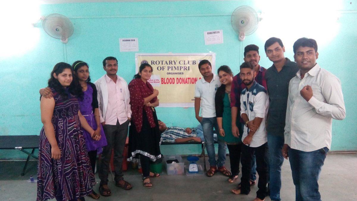 Blood Donation Camp - ASM IBMR, Pune