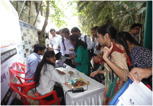 Job Fair at ASM IBMR, Pune