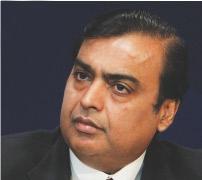 Mr. Mukesh Ambani - Chairman, Reliance