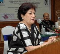 Mrs. Padmashree Leela Poonawalla - Former Chairperson, Alfa Laval