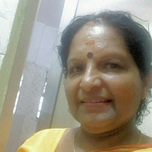 Mrs. Pushpa Pillay - Principal, Geetama English Medium School