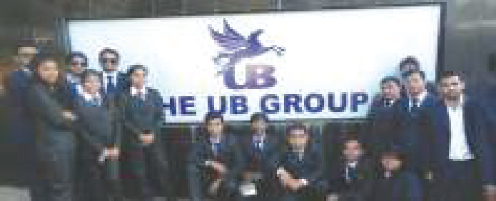 The UB Group Visit - ASM's IBMR, Pune