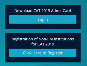 Download CAT 2019 Admit Card