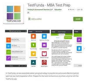 MBA Test Prep App