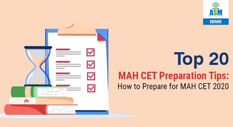 MAH CET EXAM 2020 Preparation