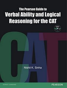 The Pearson Guide to Verbal Ability and Logical Reasoning for the Cat (Old Edition)