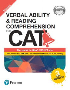 Verbal Ability and Reading Comprehension for CAT by Pearson