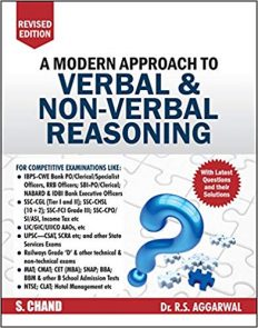 A Modern Approach to Verbal & Non-Verbal Reasoning by RS Aggarwal
