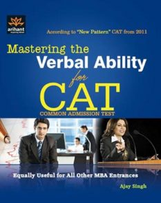 Mastering the Verbal Ability for CAT Common Admission Test (Old Edition)