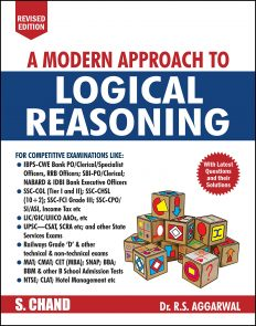 A Modern Approach to Logical Reasoning by R.S.Aggarwal
