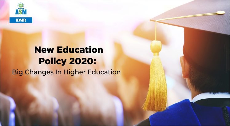 New Education Policy 2020 for Higher Education